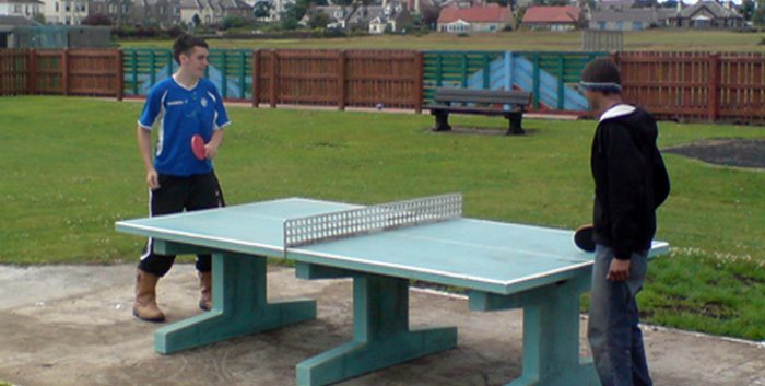 Outdoor Table Tennis Table Concrete Sports