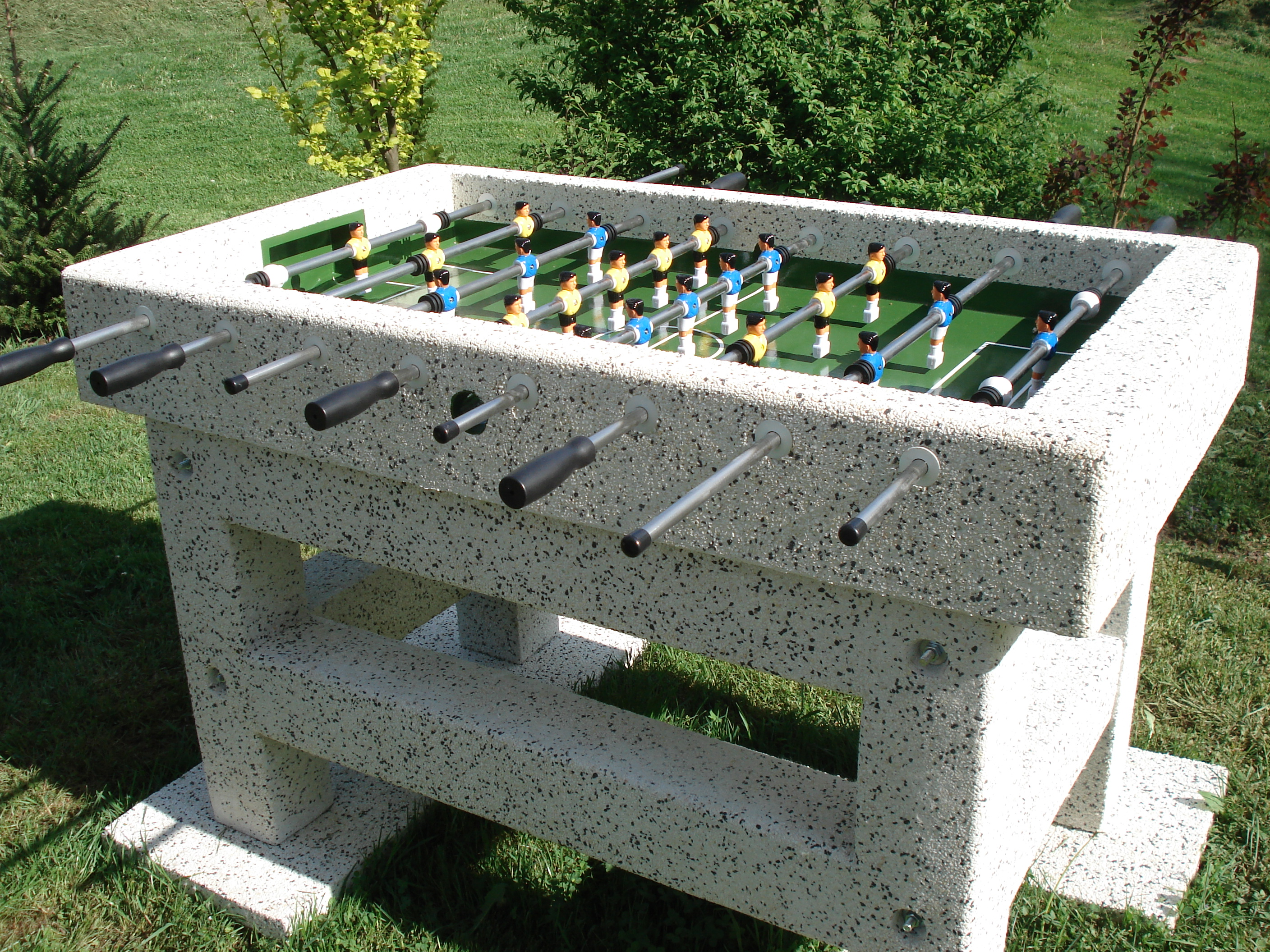 Outdoor football table